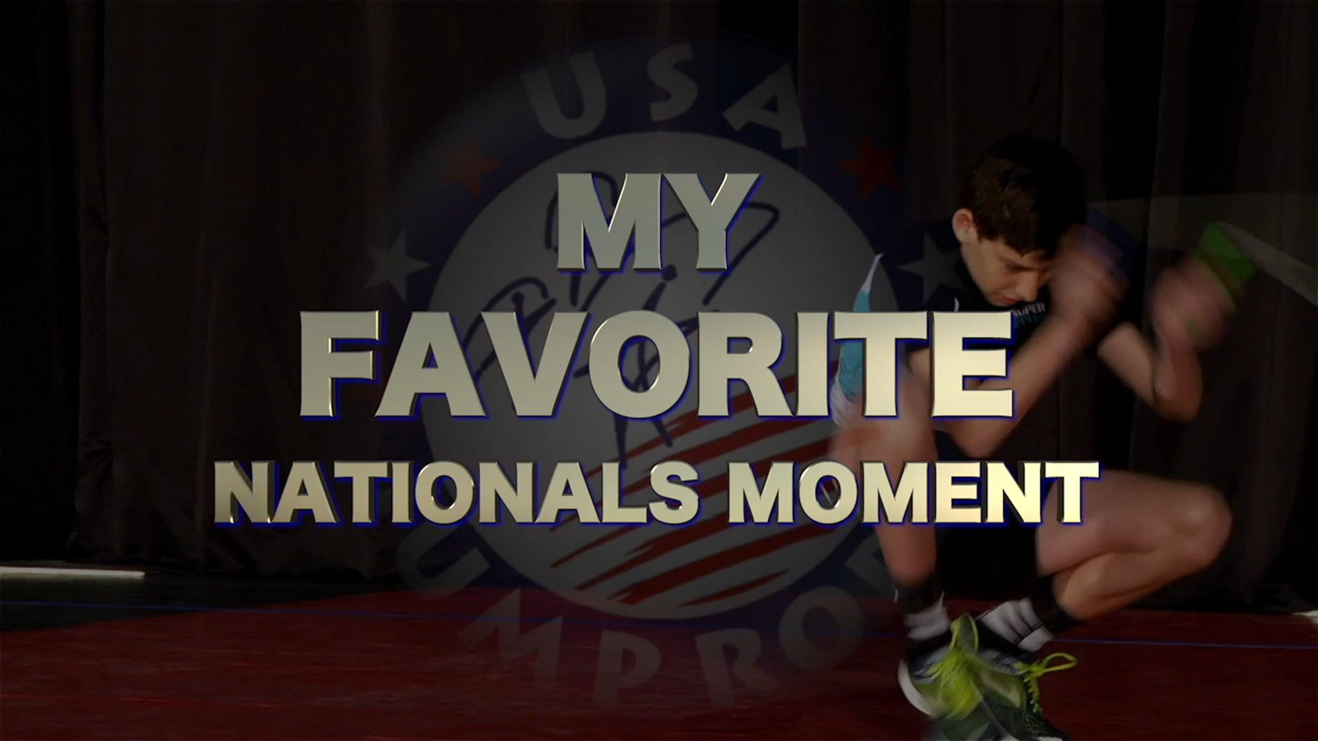 My Nationals Moment - Alex