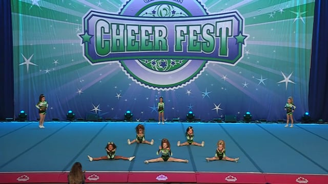 Academy of Cheer Excellence Kiss - Mini Small 1