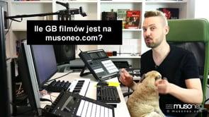 Ile GB filmów jest na Musoneo?