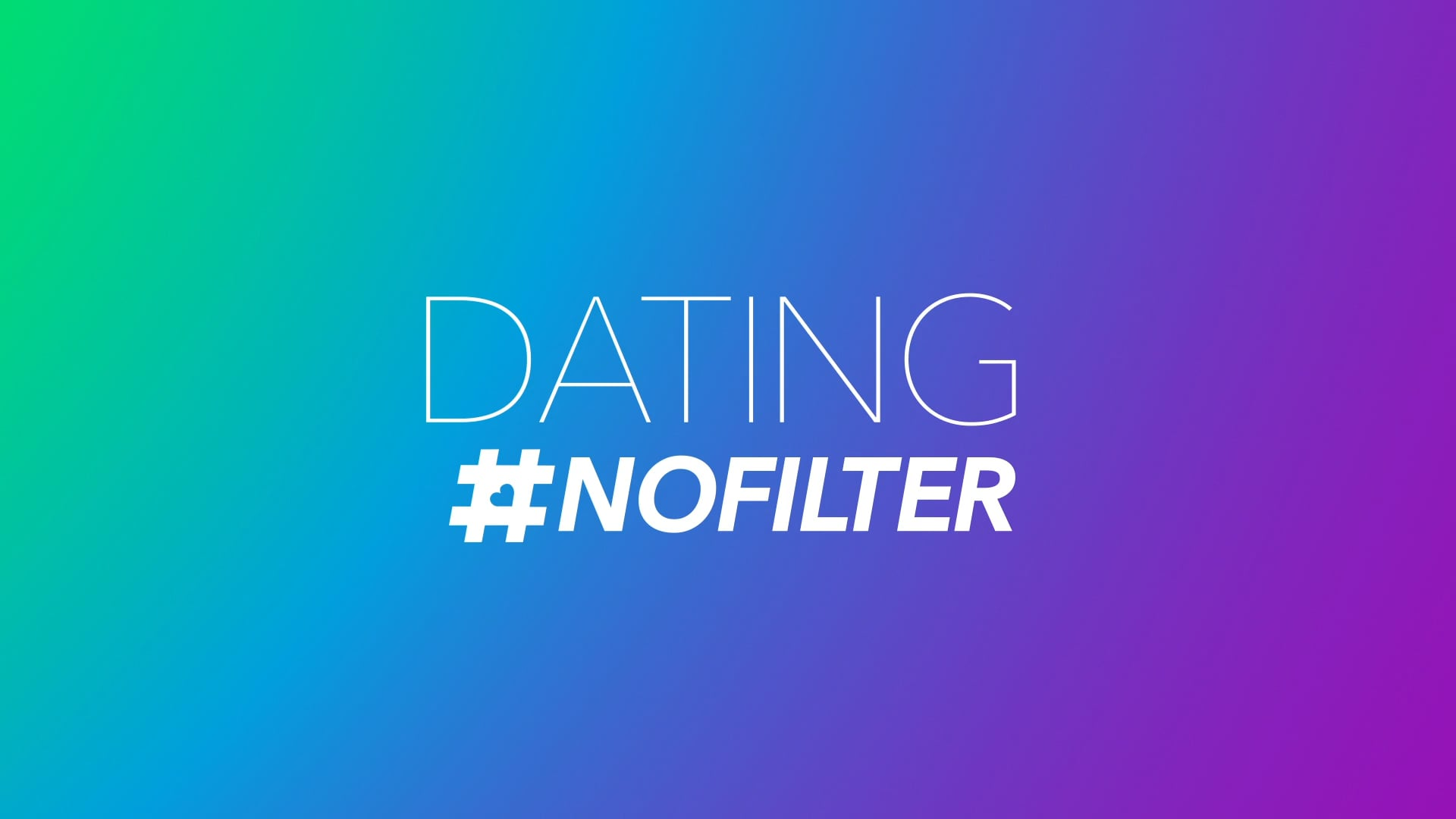 E! Dating #NoFilter Show Graphics Package