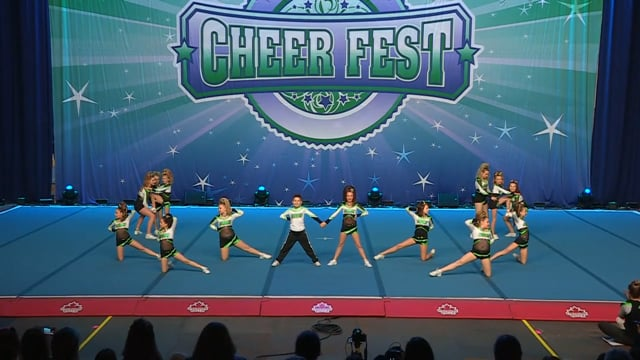 Academy of Cheer Excellence Heart - Youth X-Small 1