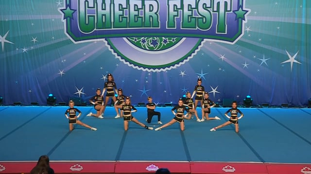 Absolute Cheer and Tumbling Yellow Gold - Junior Small 1