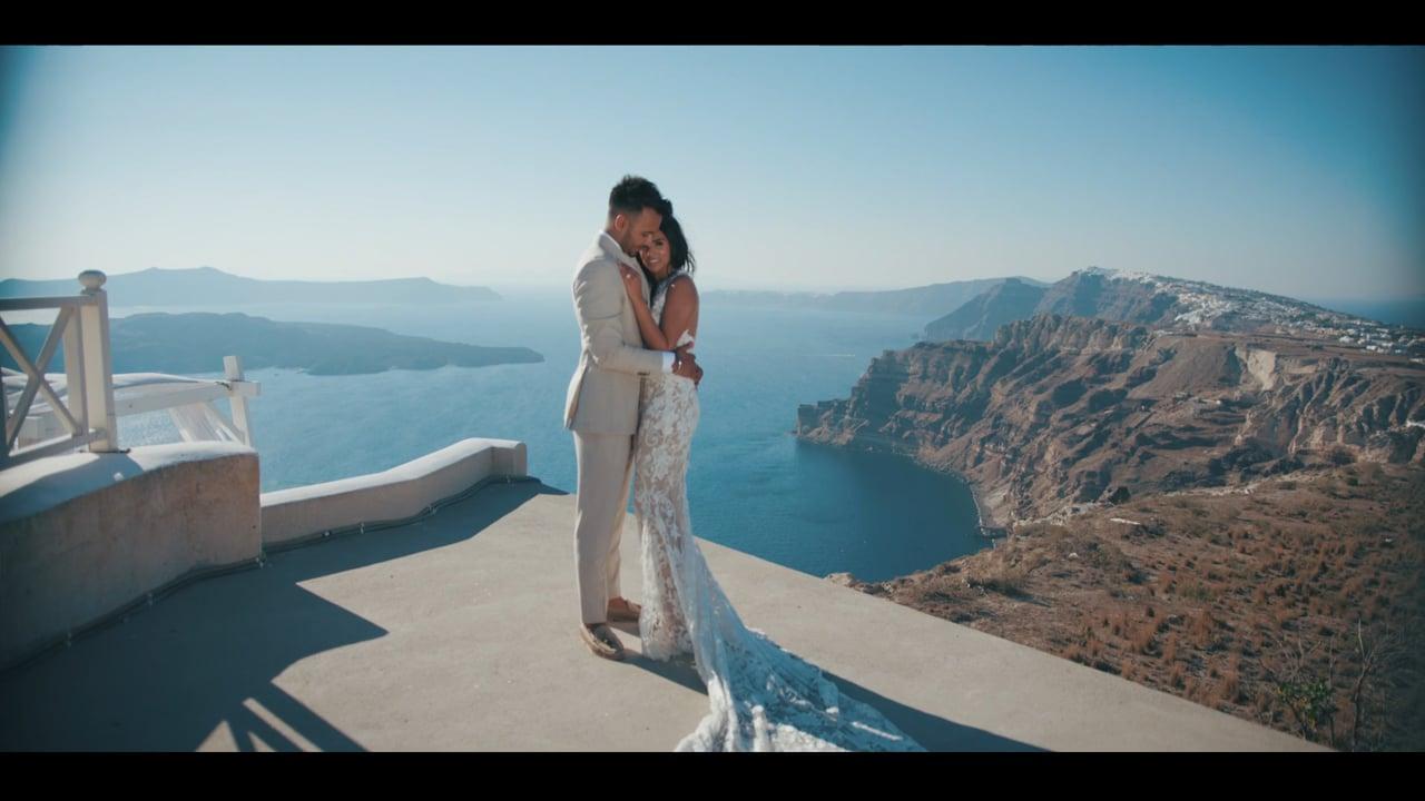 Asha & Gov - Civil Wedding Santorini