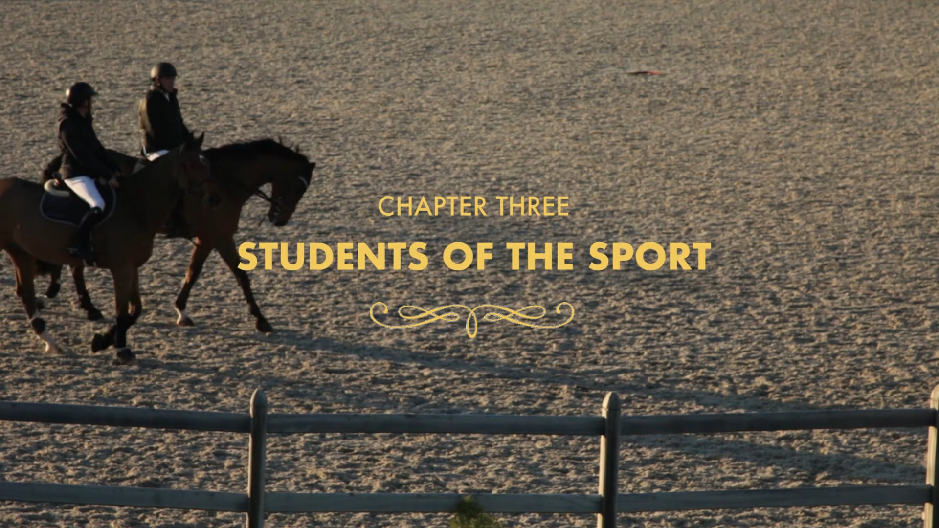 Chapter Three: Students of the Sport