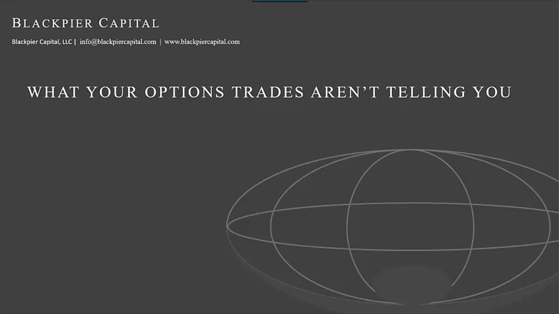 What Options Trades Arent Telling You