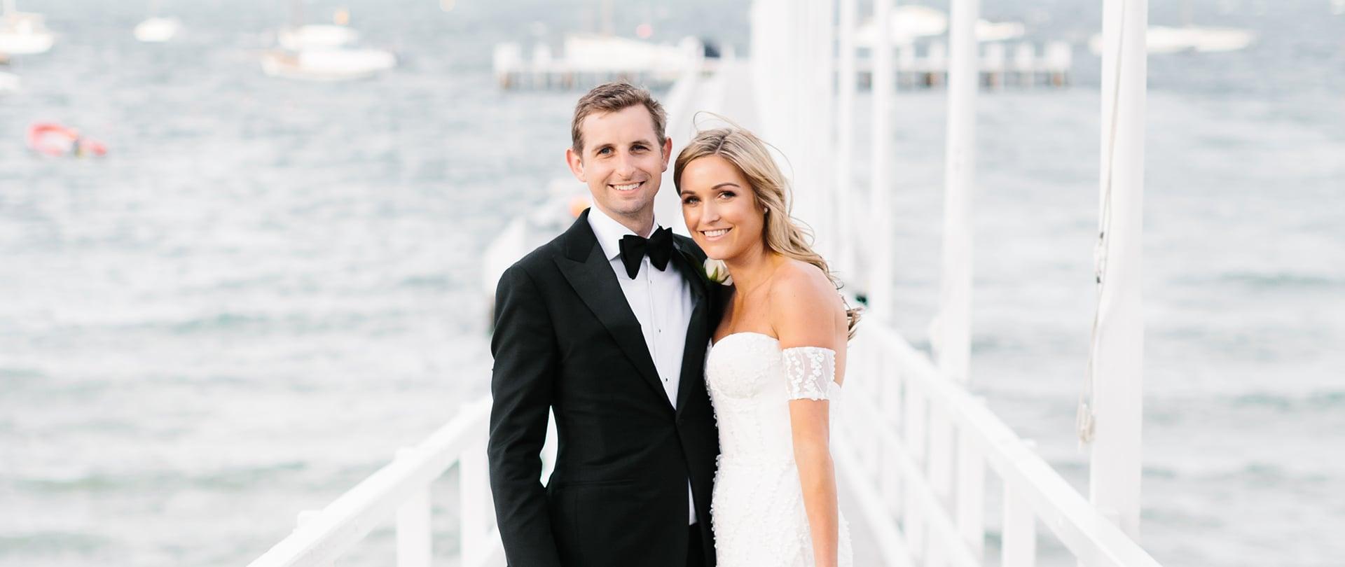 Charlotte & Charlie Wedding Video Filmed at Mornington Peninsula, Victoria