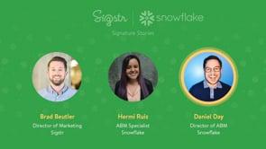 Signature Story: Snowflake Computing