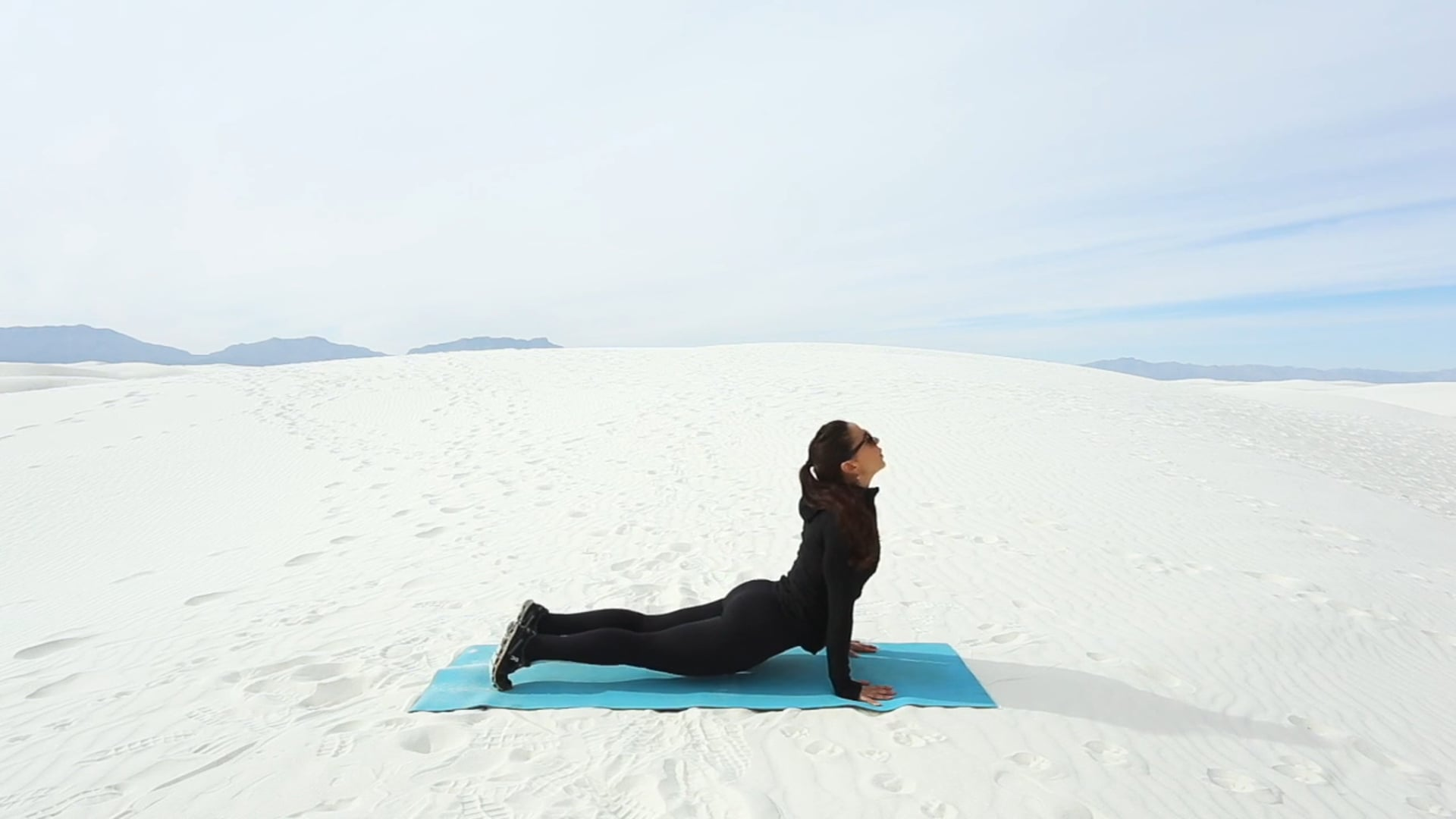 Sweat at White Sands I