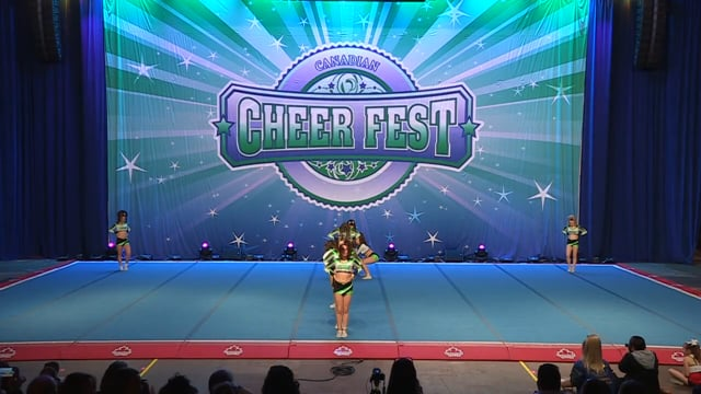 Academy of Cheer Excellence  Green Day - Senior X-Small 3