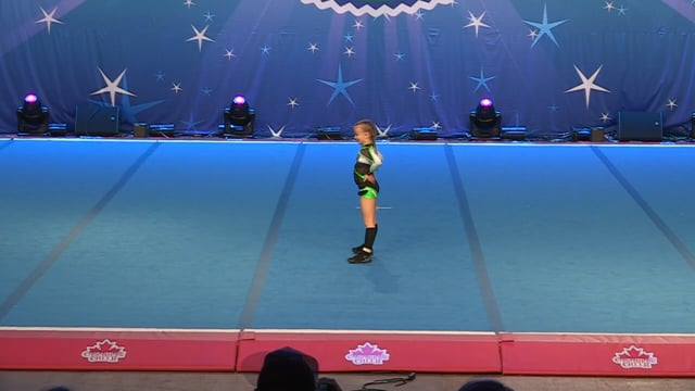 Academy of Cheer Excellence  Adelyn - Tiny Indy 1