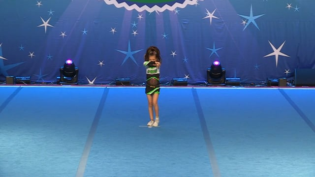 Academy of Cheer Excellence  April - Tiny Indy 1