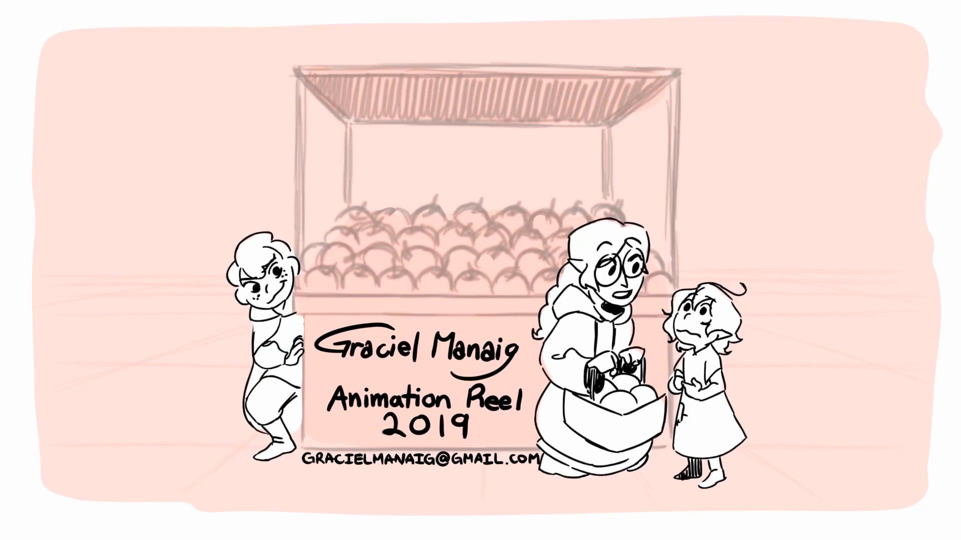 Graciel Manaig Animation Reel (2019)