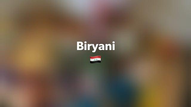 Biryani - kochen mit Freunden