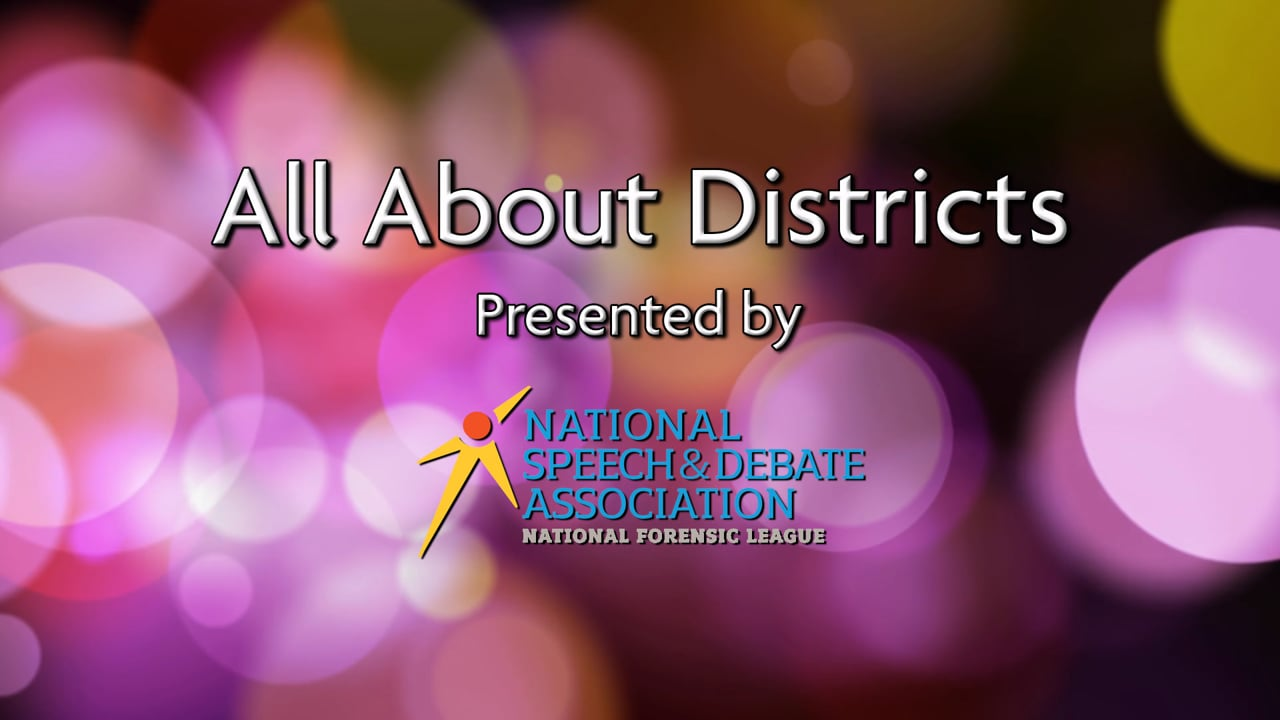 All About Districts - Introduction