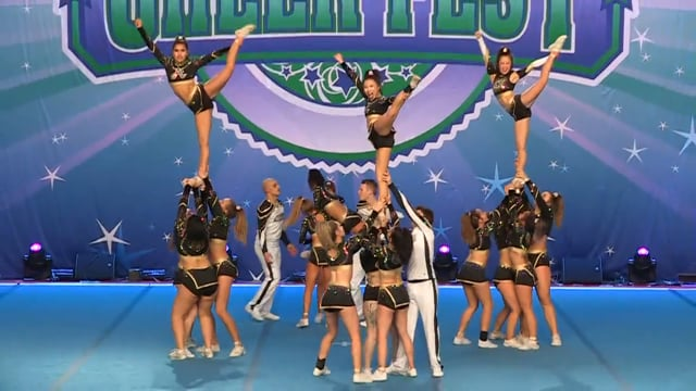 Absolute Cheer and Tumbling  Vegas Gold - Intl Open NT Coed  5