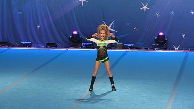 Academy of Cheer Excellence  Alexis - Mini Indy 2
