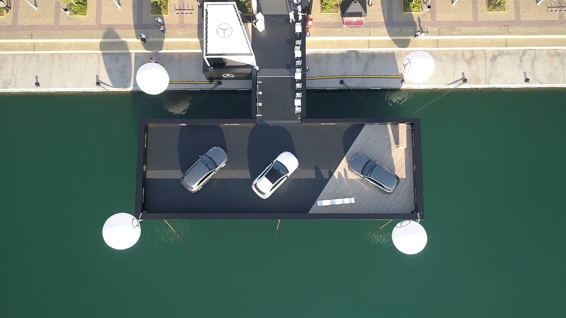 Presentación Making-of | Mercedes-Benz New A-Class Launch @Flisvos Marina | Magna Events | Grecia
