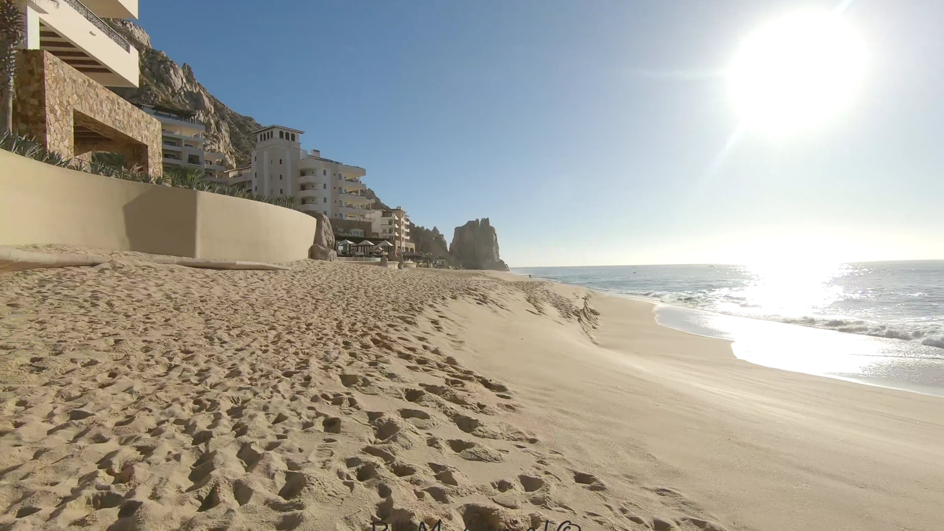 Walking Divorce and Married Beach Cabo San Lucas