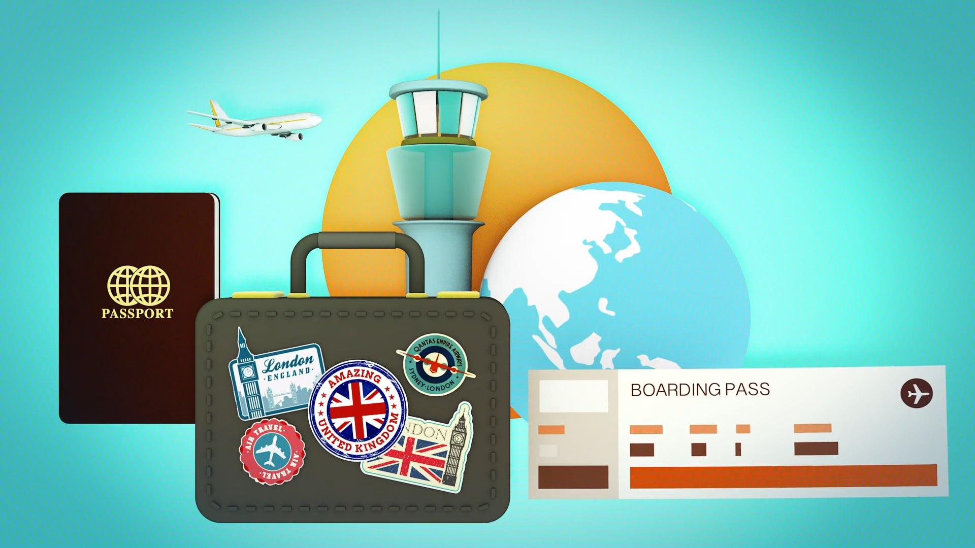 The Airport Economist - Title Seqeuence