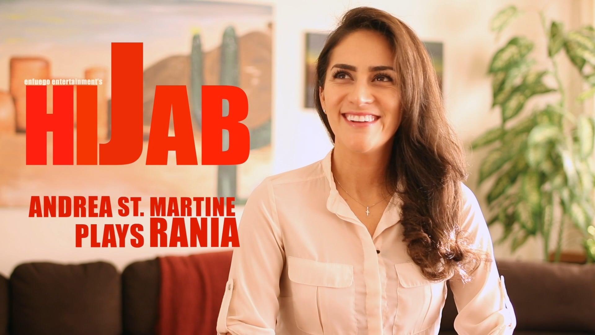 Hijab Interviews - Andrea St. Martine #1