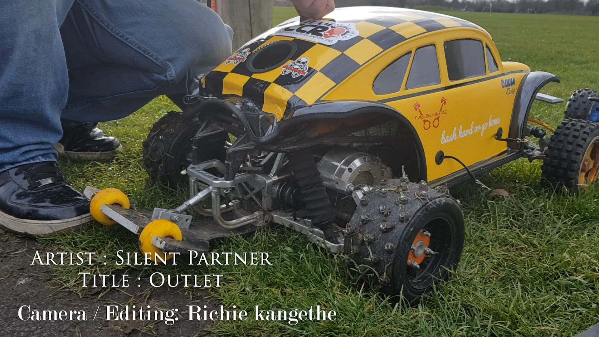 2 Stroke RC Racing Car