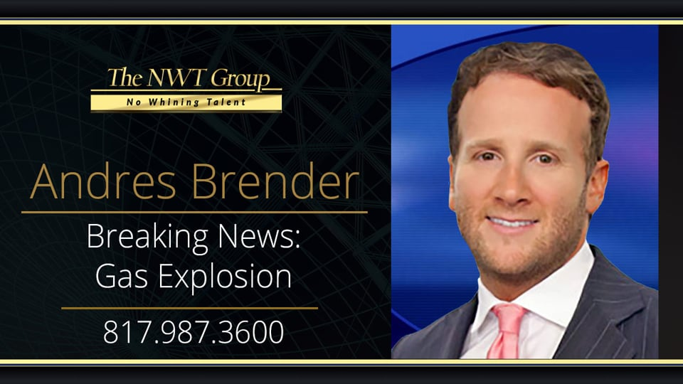 Breaking News Gas Explosion
