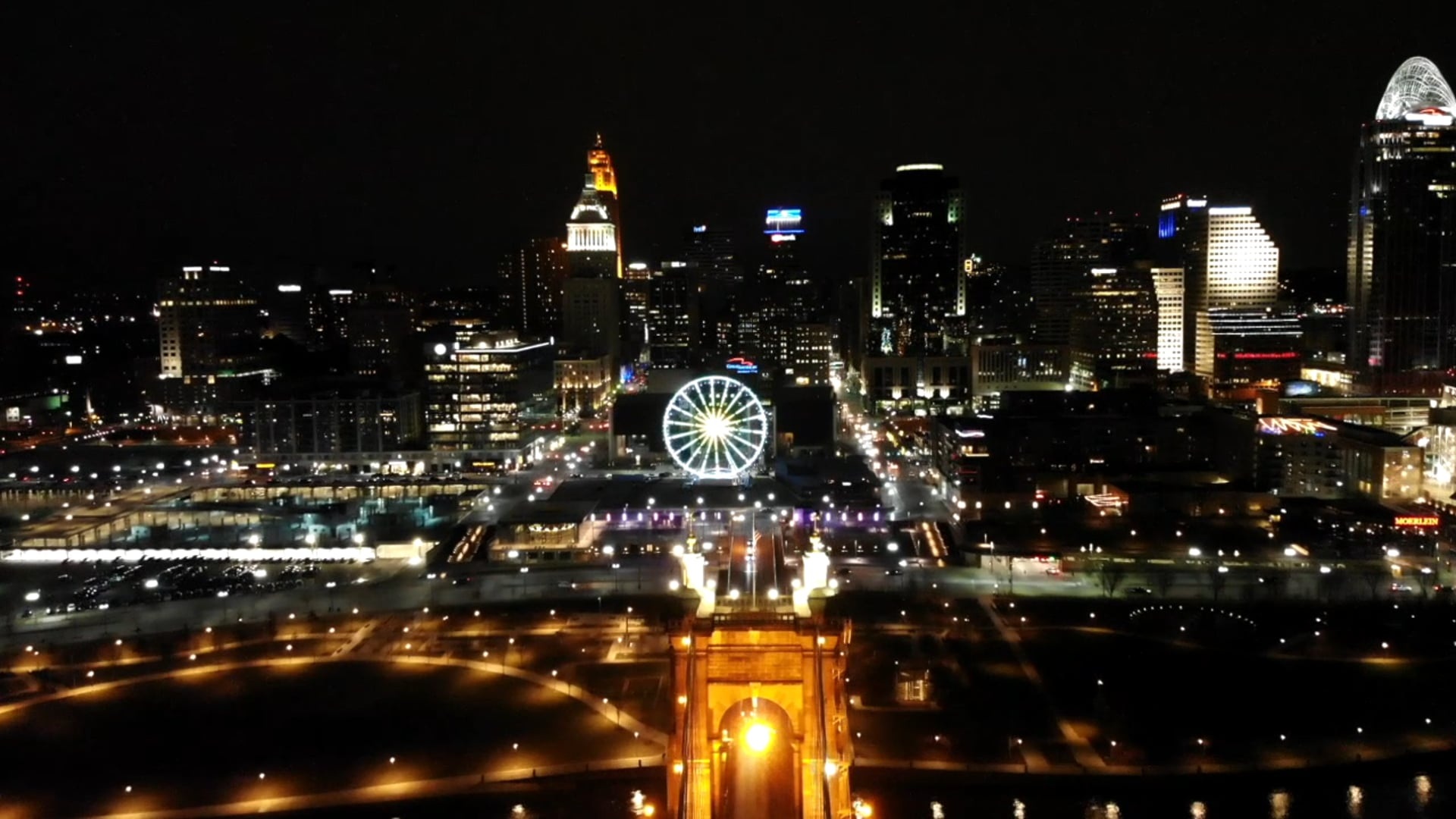 Nati' Skyline at Night