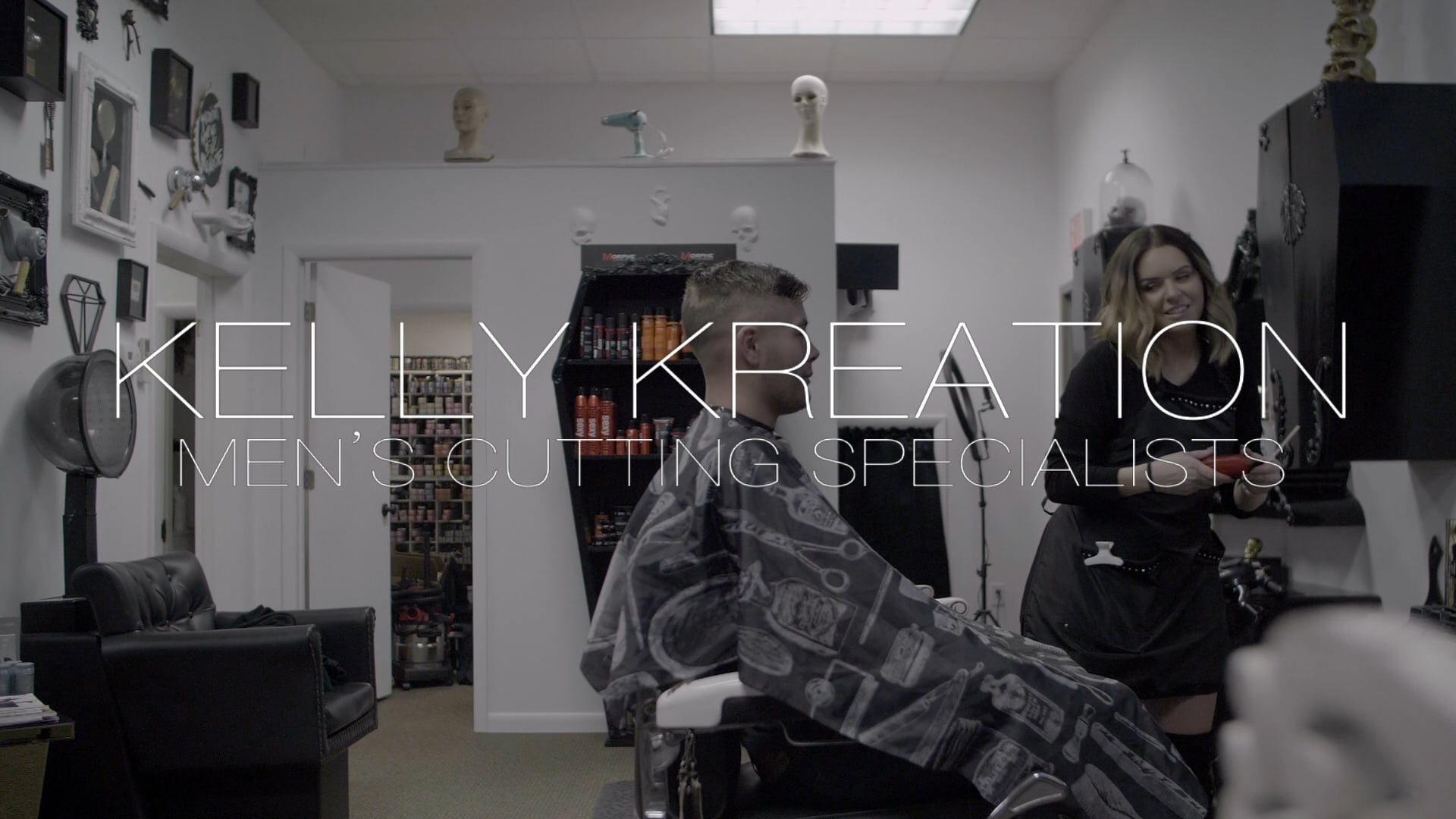 Kelly Kreation - Men's Cutting Specialists