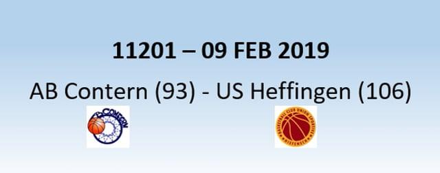 N1H 11201 AB Contern (93) - US Heffingen (106) 09/02/2019