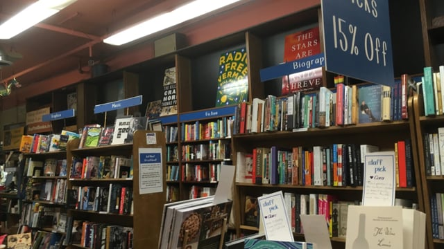 Interview at Bear Pond Books