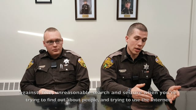Interview with Aroostook County Sheriff