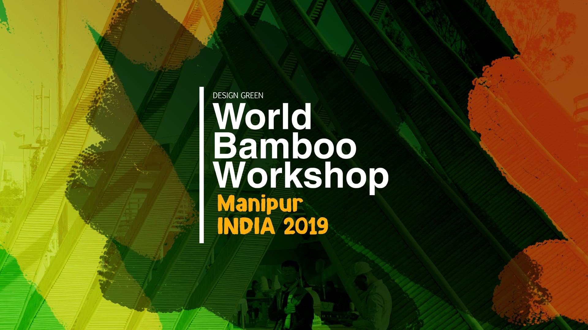 World Bamboo Workshop India 2019