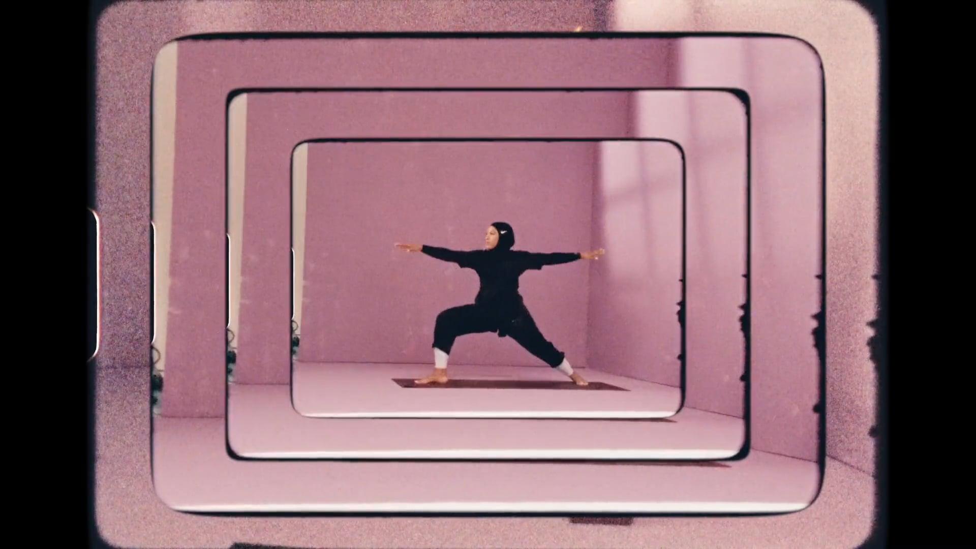 Nike - Yoga Transforms: Six Athletes