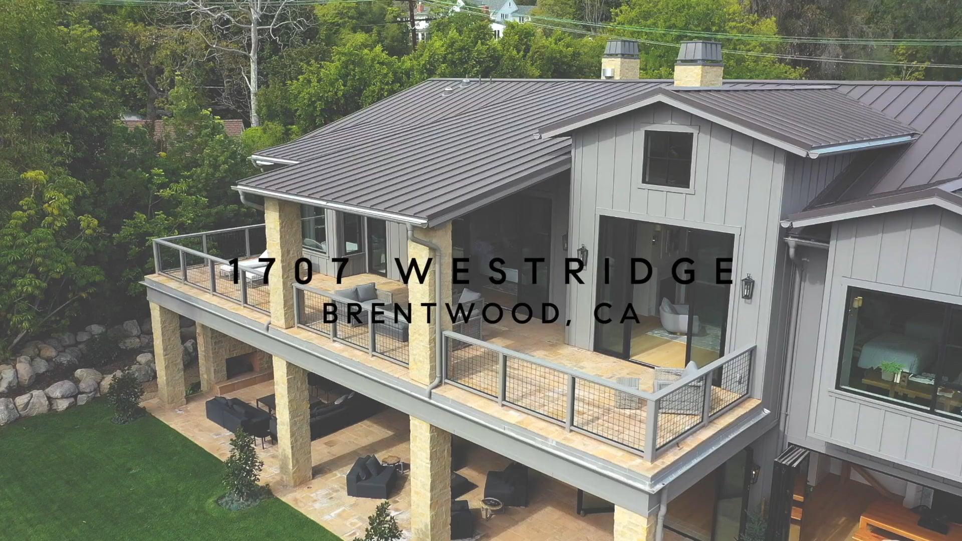 1707 Westridge | Brentwood CA