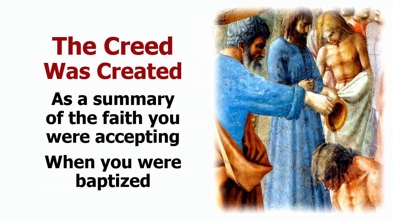 Credo: What We Believe - The Apostle's Creed