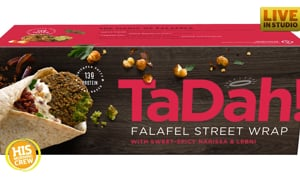 Discount Grocery Store Discovery: TaDah! Falafel Street Wrap