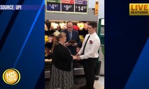 Couple Met at Walmart, Gets Married in Flower Department