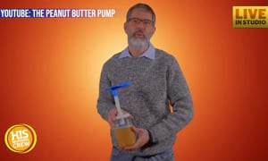Peanut Butter Pump Invention Helps PB Lovers Reduce Mess