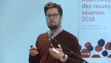 Assemblée des revues savantes 2018 - Enjeux de la diffusion des revues savantes québécoises et canadiennes (4 de 5)