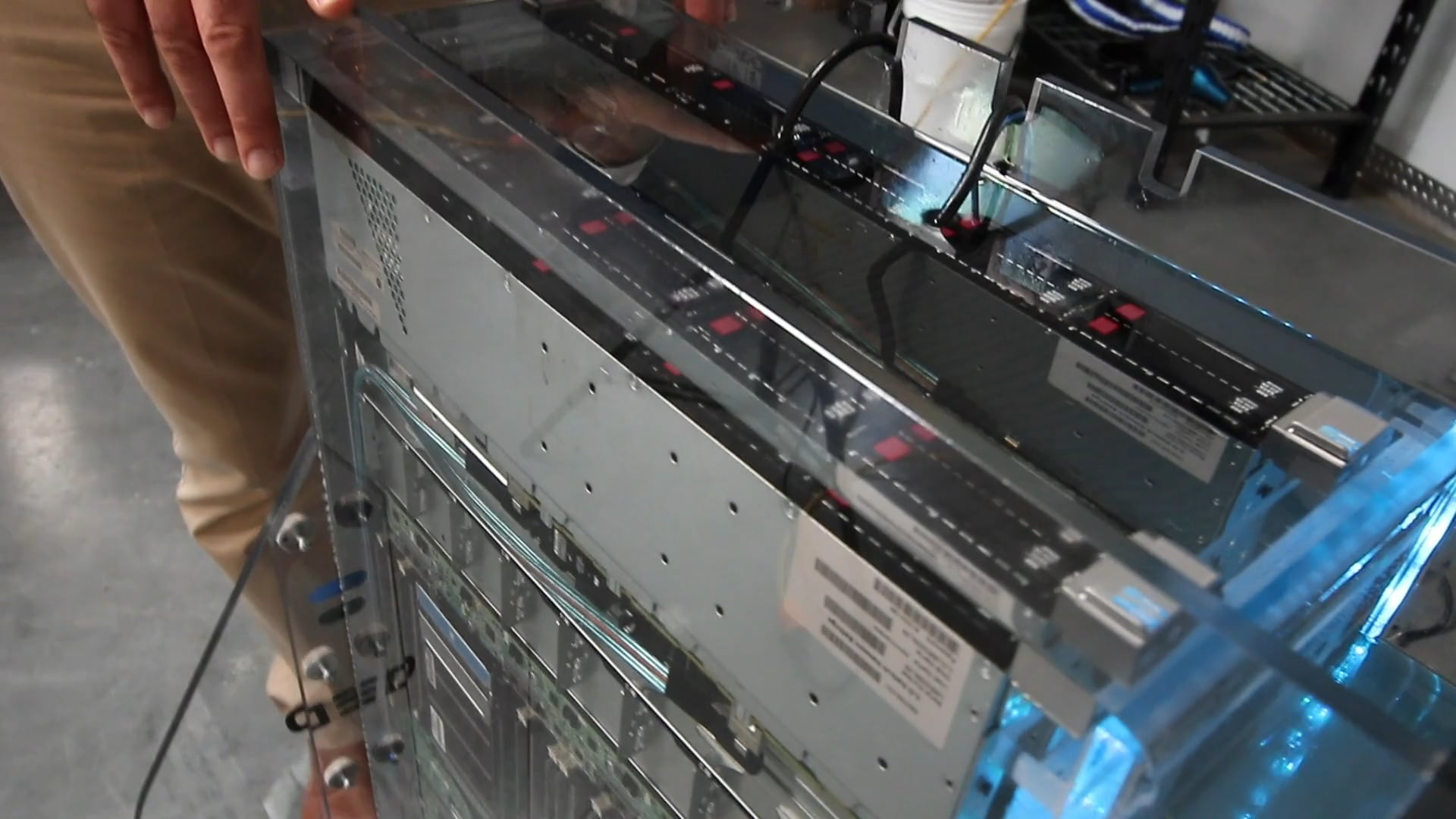 Preparing a Server for Immersion Cooling