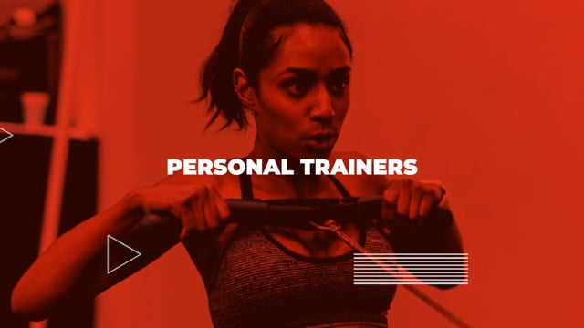 Personal Trainer Fitness Gym - Action Teaser