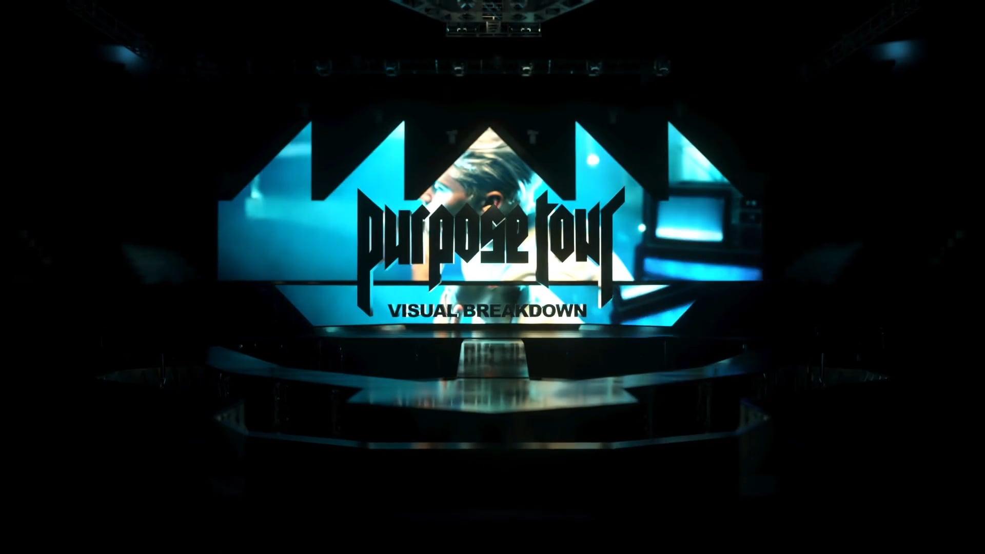 Justin Bieber Purpose Tour Visual Breakdown