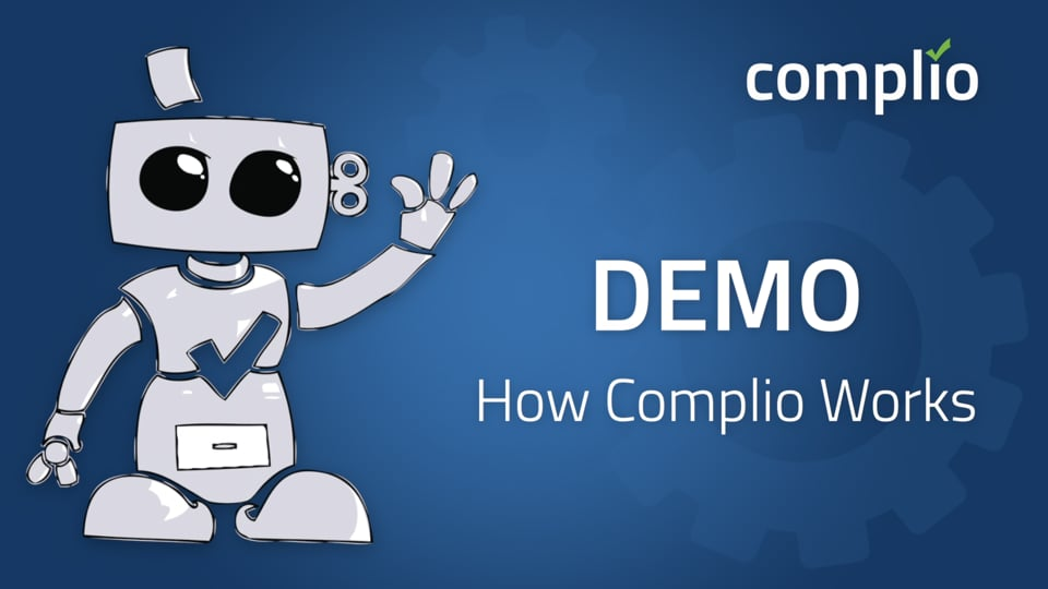 Complio Demo Video – How Complio Works