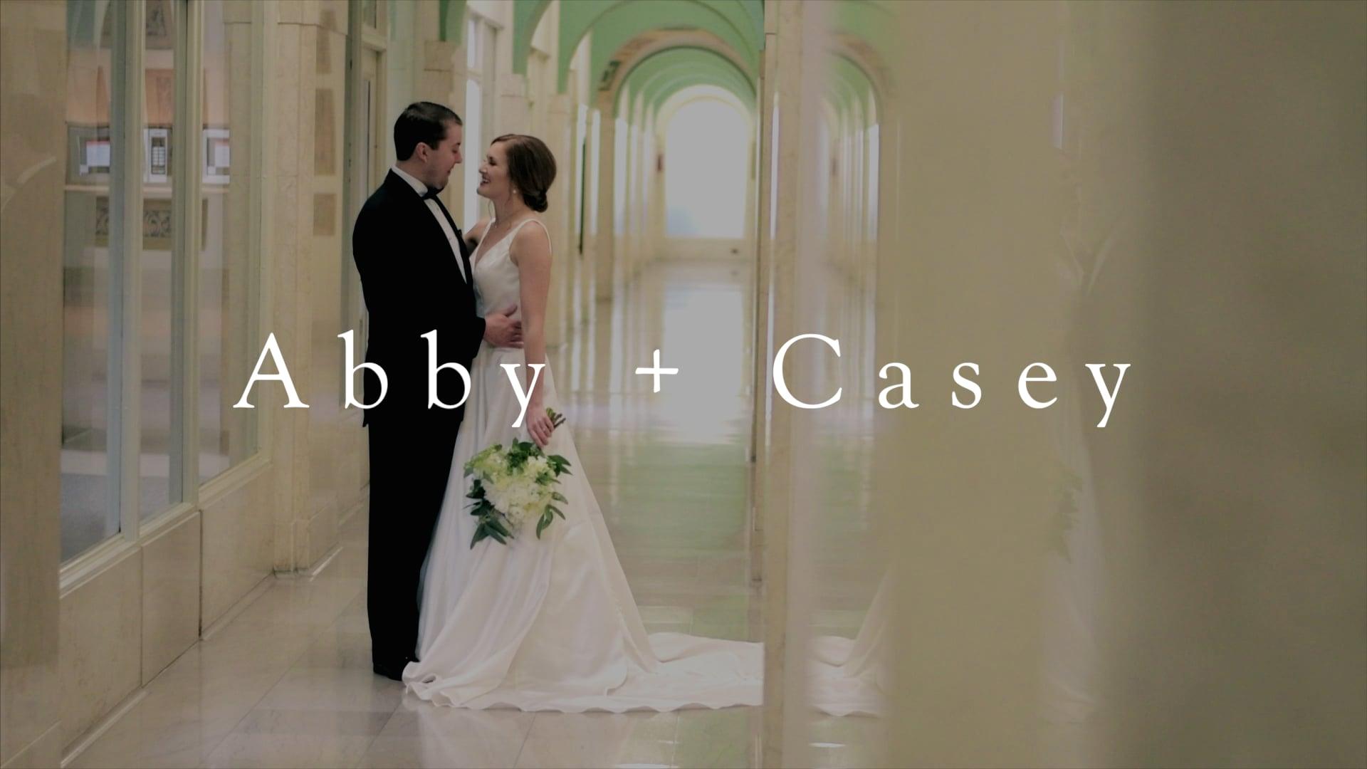 Abby + Casey | A New Year's Eve Wedding