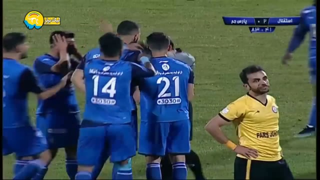 Esteghlal v Pars Jonoubi Jam - Highlights - Week 19 - 2018/19 Iran Pro League