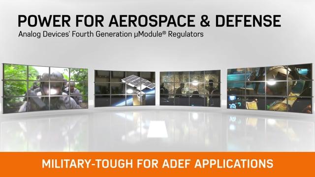 ADI: µModule® Regulator Power for ADEF