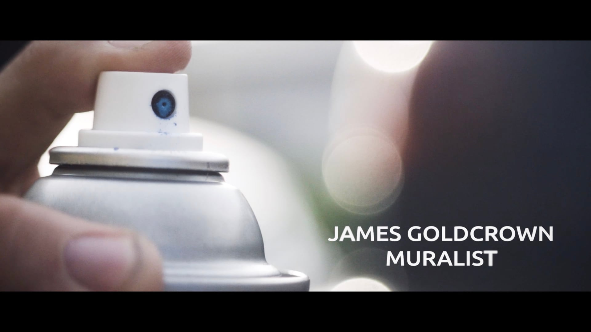 Muralist James Goldcrown - Web Series Teaser