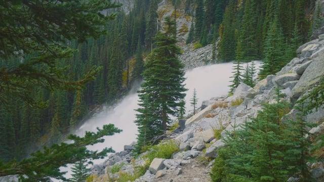 Enchantment Lakes Waterfalls, Washington
