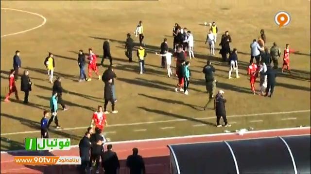 Sorkhpooshan v Mes Rafsanjan - Highlights - Week 24 - 2018/19 Azadegan League