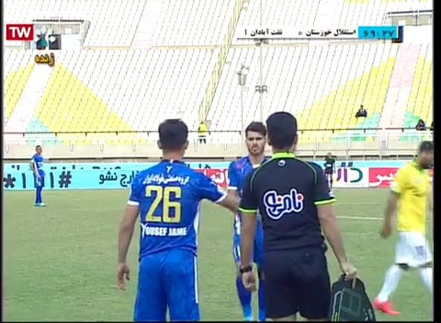 Esteghlal Khuzestan v Sanat Naft - Full - Week 19 - 2018/19 Iran Pro League